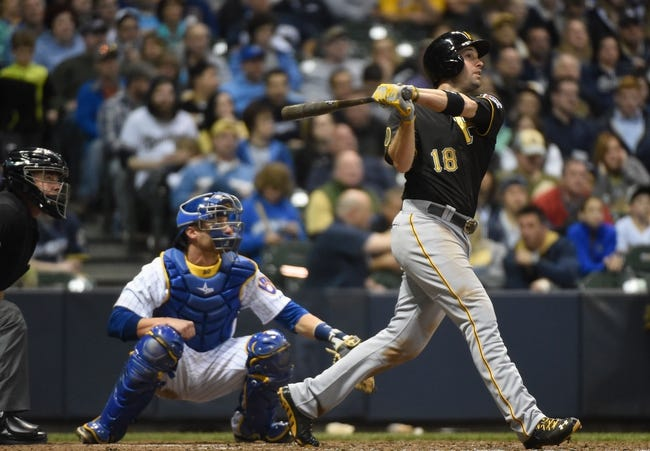 Milwaukee Brewers vs. Pittsburgh Pirates - 4/12/14