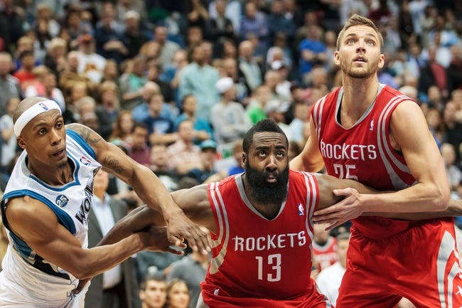 Minnesota Timberwolves vs. Houston Rockets - 12/5/14 NBA Pick, Odds, and Prediction
