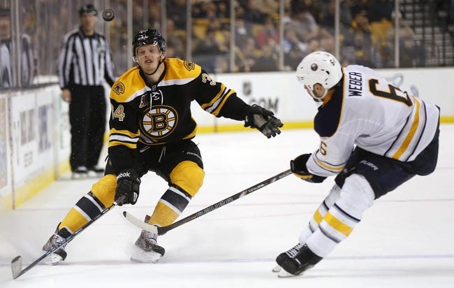 Buffalo Sabres vs. Boston Bruins - 10/18/14 NHL Pick, Odds, Prediction