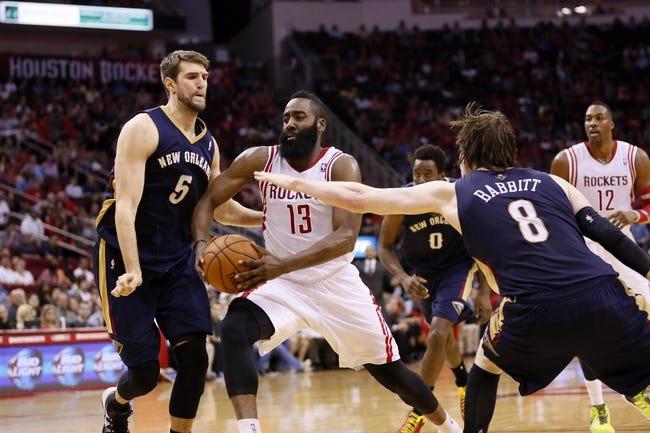 New Orleans Pelicans vs. Houston Rockets - 4/16/14