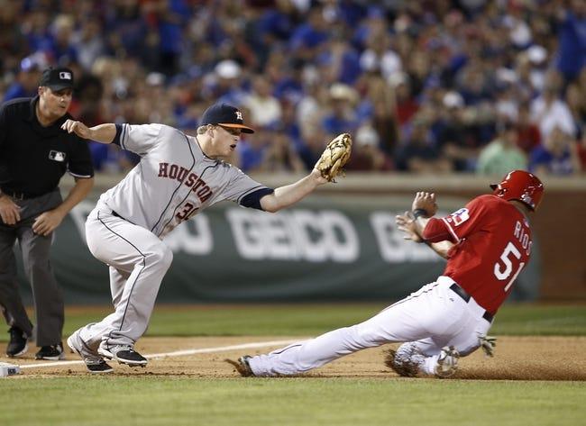 Texas Rangers vs. Houston Astros MLB Pick, Odds, Prediction 4/13/14