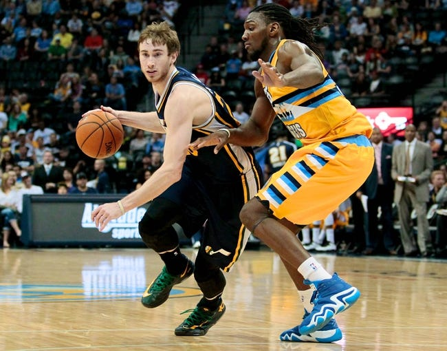Jazz vs. Nuggets - 12/1/14 NBA Pick, Odds, and Prediction