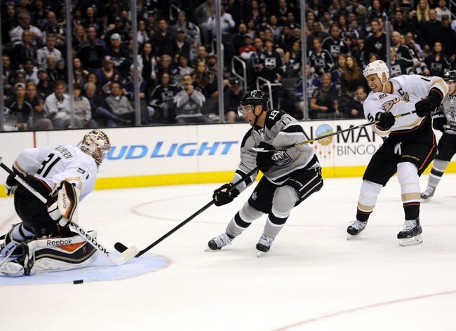 Anaheim Ducks vs. Los Angeles Kings - 5/3/14