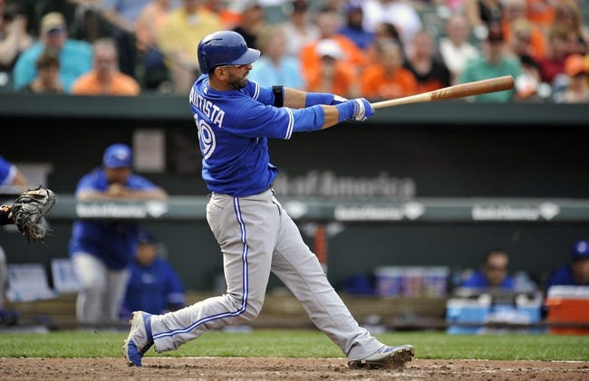 Toronto Blue Jays vs. Baltimore Orioles MLB Pick, Odds, Prediction 4/22/14