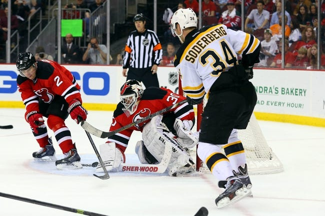 Boston Bruins vs. New Jersey Devils - 11/10/14 NHL Pick, Odds, and Prediction