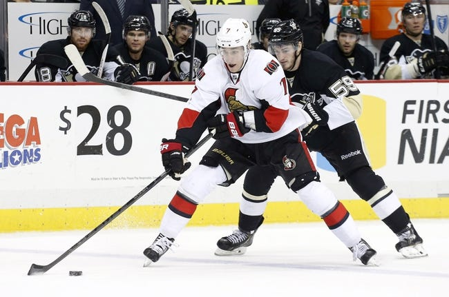 Penguins vs. Senators - 12/6/14 NHL Pick, Odds, and Prediction