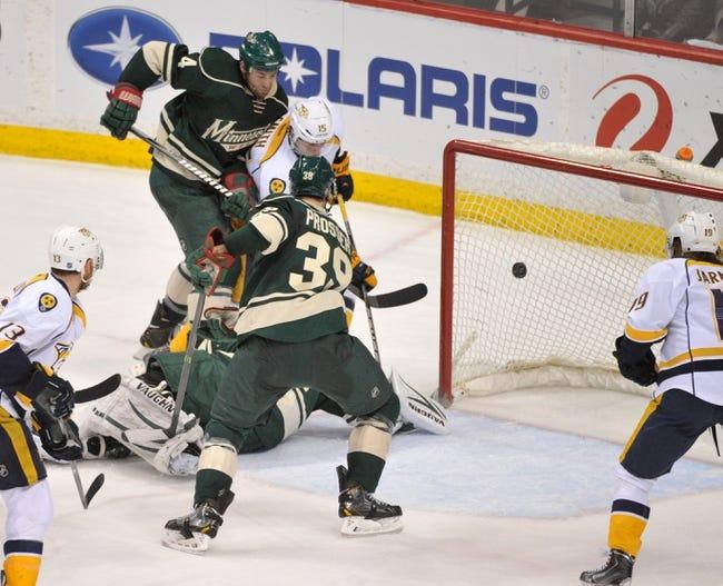 Minnesota Wild vs. Nashville Predators - 12/20/14 NHL Pick, Odds, and Prediction