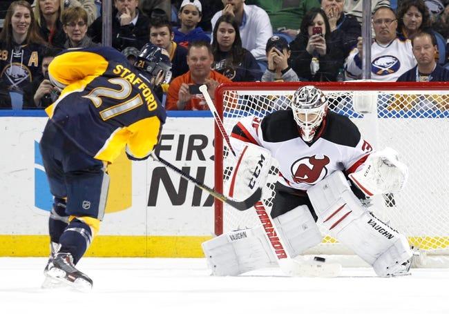 NHL | Buffalo Sabres (14-23-3) at New Jersey Devils (14-20-7)