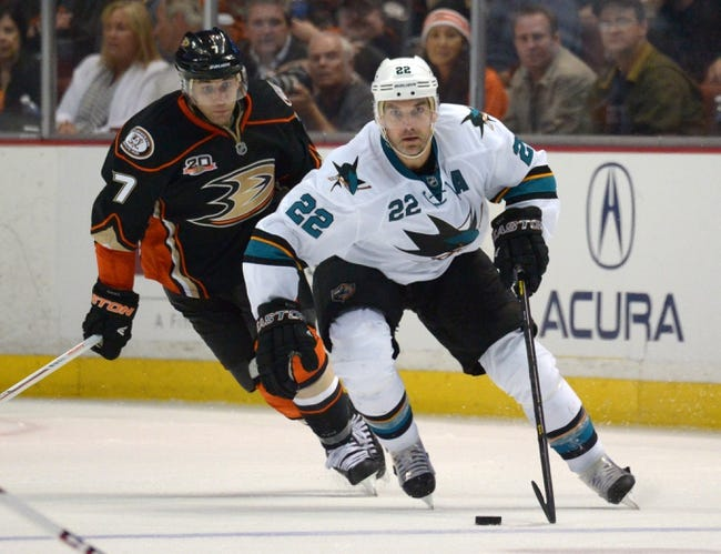 Anaheim Ducks vs. San Jose Sharks Pick-Odds-Prediction - 10/26/14