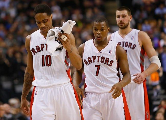 Toronto Raptors vs. Philadelphia 76ers - 11/9/14 NBA Pick, Odds, and Prediction