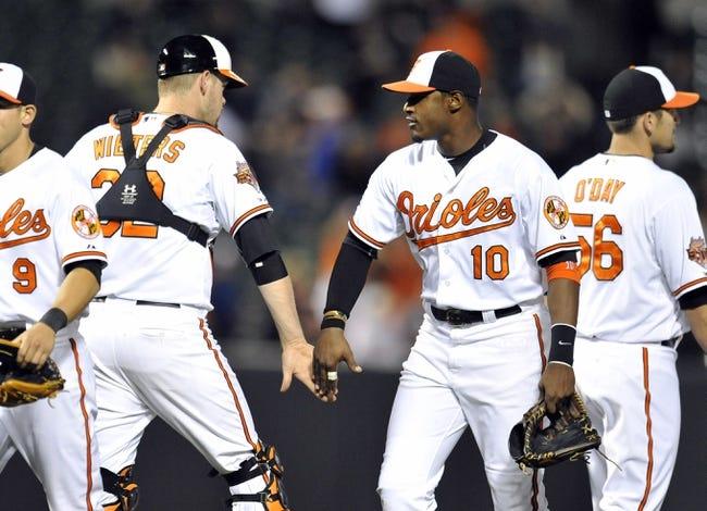 Baltimore Orioles vs. Tampa Bay Rays Pick-Odds-Prediction 4/16/14
