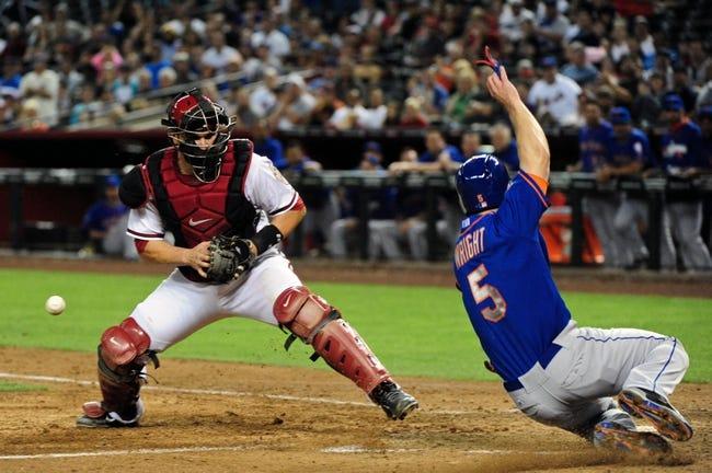 Arizona Diamondbacks vs. New York Mets - 4/15/14