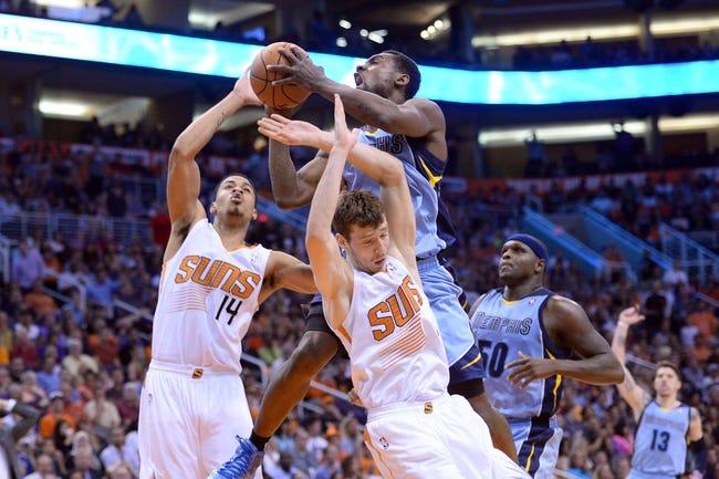 Phoenix Suns vs. Memphis Grizzlies - 11/5/14 NBA Pick, Odds, and Prediction