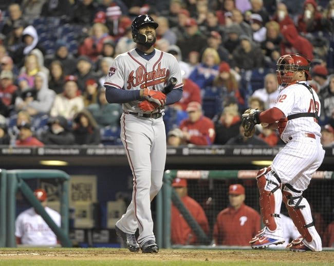 Philadelphia Phillies vs. Atlanta Braves MLB Pick, Odds, Prediction 4/17/14