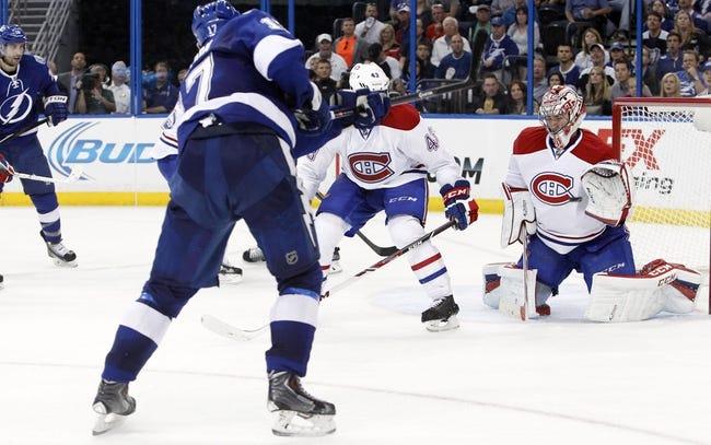 Montreal Canadiens at Tampa Bay Lightning- 4/18/14