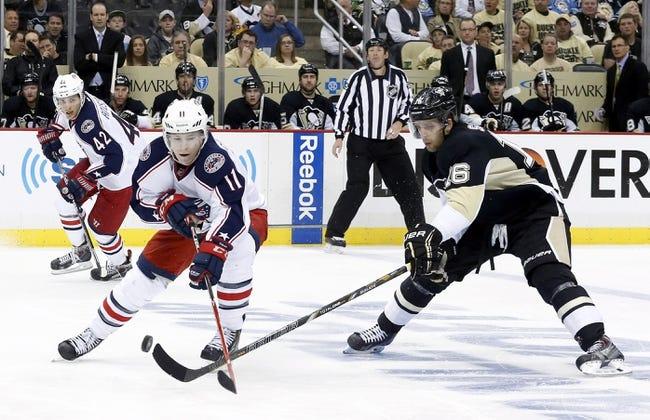 Pittsburgh Penguins vs. Columbus Blue Jackets - 4/19/14