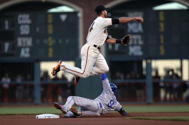 San Francisco Giants vs. Los Angeles Dodgers - 4/17/14