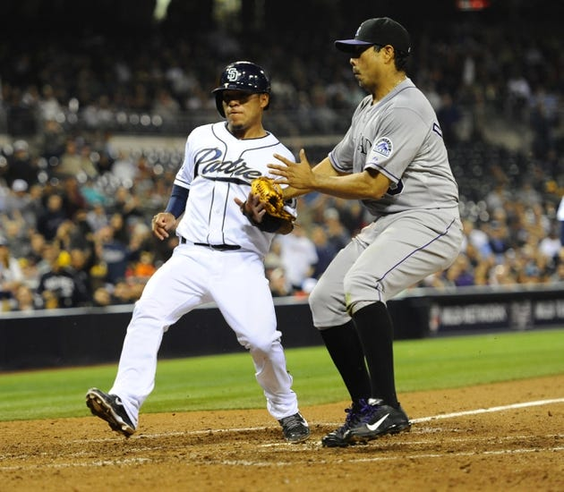 Colorado Rockies vs. San Diego Padres MLB 5/16/14