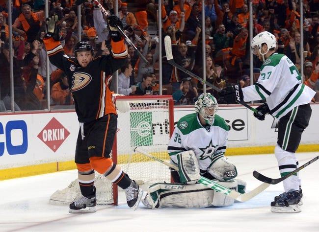 Anaheim Ducks vs. Dallas Stars - 4/18/14
