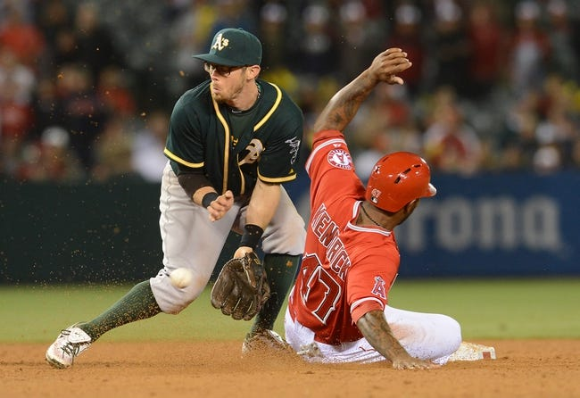 Oakland Athletics vs. Los Angeles Angels Pick-Odds-Prediction - 5/30/14