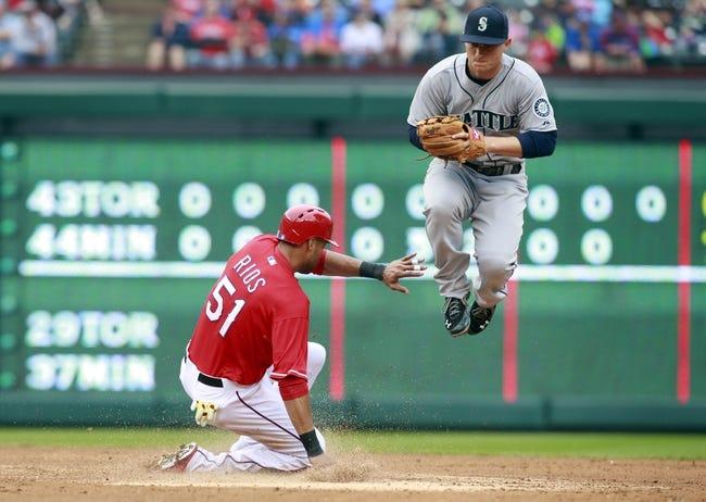 Seattle Mariners vs. Texas Rangers MLB Pick, Odds, Prediction 4/25/14