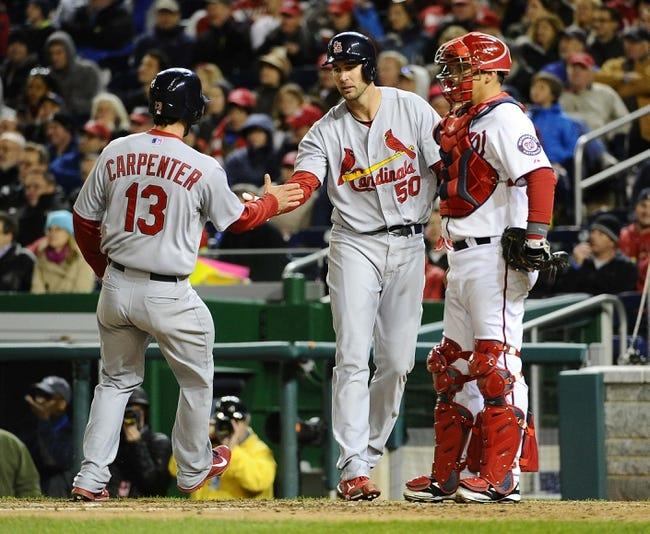 Washington Nationals vs. St. Louis Cardinals MLB Pick, Odds, Prediction 4/18/14