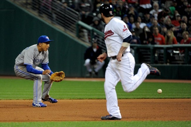Cleveland Indians vs. Toronto Blue Jays MLB Pick, Odds, Prediction 4/19/14