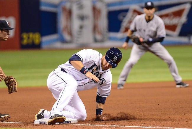 Tampa Bay Rays vs. New York Yankees MLB Pick, Odds, Prediction 4/19/14