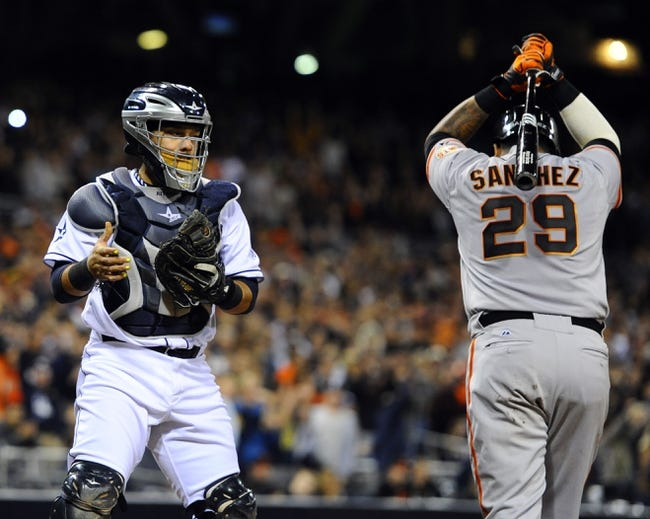 San Diego Padres vs. San Francisco Giants - 4/19/14