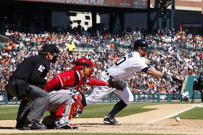 Detroit Tigers vs. Los Angeles Angels MLB Pick, Odds, Prediction 4/20/14