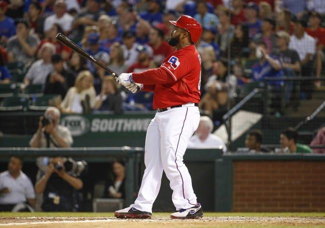 Texas Rangers vs. Chicago White Sox MLB Pick, Odds, Prediction 4/20/14