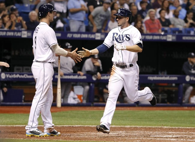Tampa Bay Rays vs. New York Yankees - 4/20/14
