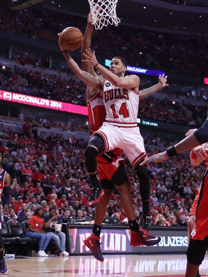Chicago Bulls vs. Washington Wizards - 4/22/14