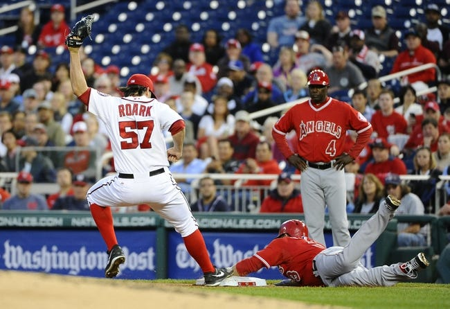 Washington Nationals vs. Los Angeles Angels MLB Pick, Odds, Prediction 4/22/14
