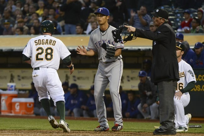 Oakland Athletics vs. Texas Rangers MLB Pick, Odds, Prediction - 4/22/14