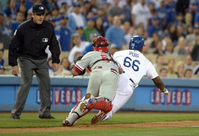 Los Angeles Dodgers vs. Philadelphia Phillies MLB Pick, Odds, Prediction - 4/22/14