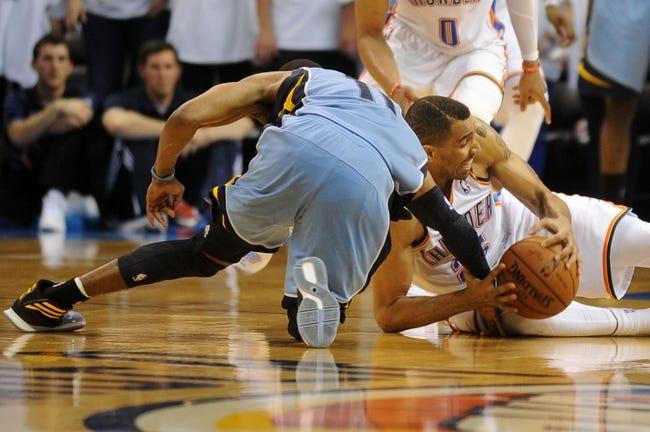 Oklahoma City Thunder at Memphis Grizzlies NBA Playoff Pick, Odds, Prediction 4/24/14