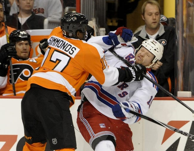 Philadelphia Flyers vs. New York Rangers - 4/25/14