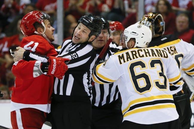 Detroit Red Wings vs. Boston Bruins - 4/24/14