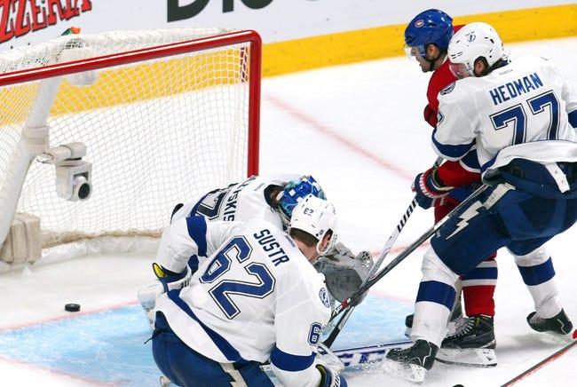 Tampa Bay Lightning vs. Montreal Canadiens - 10/13/14 NHL Pick, Odds, Prediction