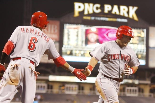 Pittsburgh Pirates vs. Cincinnati Reds MLB Pick, Odds, Prediction 4/23/14