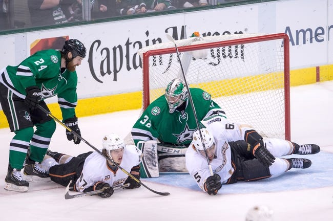 Anaheim Ducks vs. Dallas Stars - 4/25/14