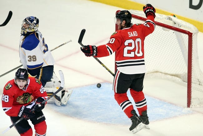 Chicago Blackhawks at St. Louis Blues Pick-Odds-Prediction - 4/25/14