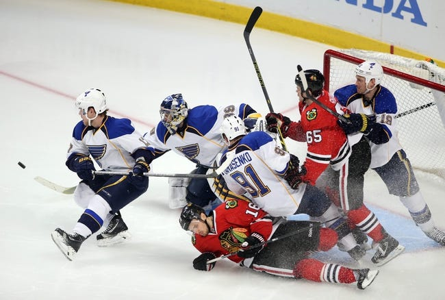 St. Louis Blues vs. Chicago Blackhawks - 4/25/14