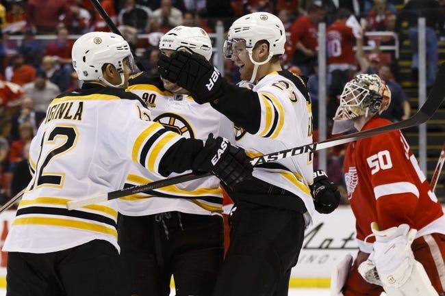 Boston Bruins vs. Detroit Red Wings - 4/26/14