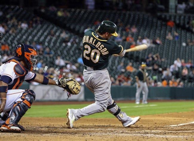 Houston Astros vs. Oakland Athletics MLB Pick, Odds, Prediction 4/26/14