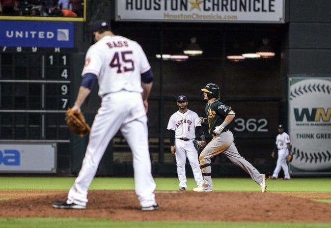 Houston Astros vs. Oakland Athletics MLB Pick, Odds, Prediction 4/25/14