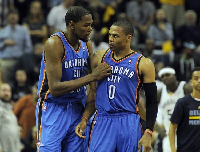 Oklahoma City Thunder vs. Utah Jazz - 1/9/15 NBA Pick, Odds, and Prediction