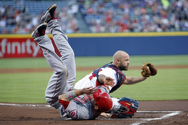 Atlanta Braves vs. Cincinnati Reds MLB Pick, Odds, Prediction 4/26/14