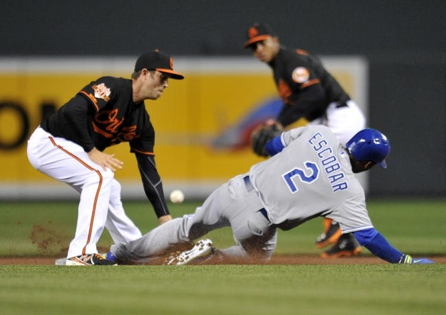 Baltimore Orioles vs. Kansas City Royals MLB Pick, Odds, Prediction - 4/26/14